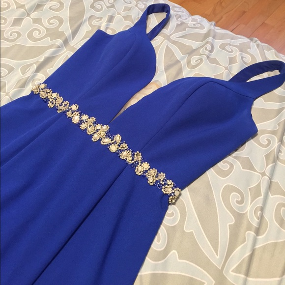 147987143ad Royal Blue Prom Dress